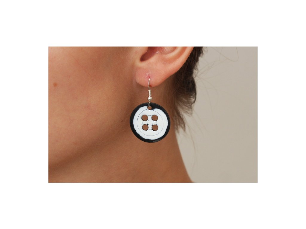 641 earrings simple