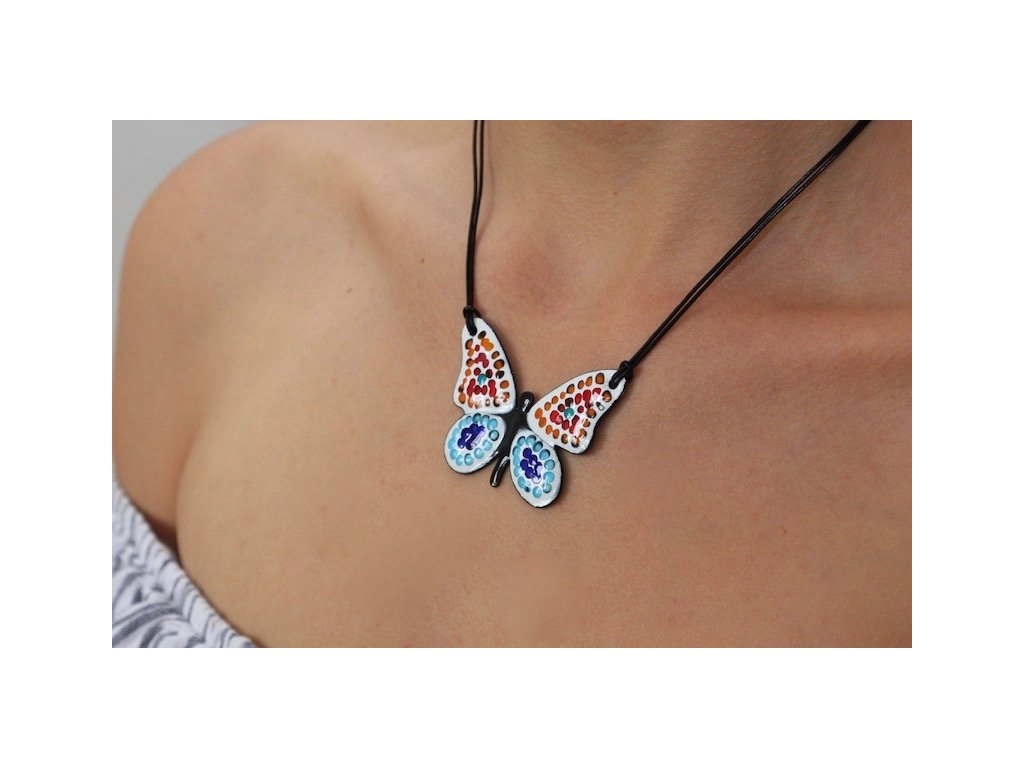 647 butterfly necklace