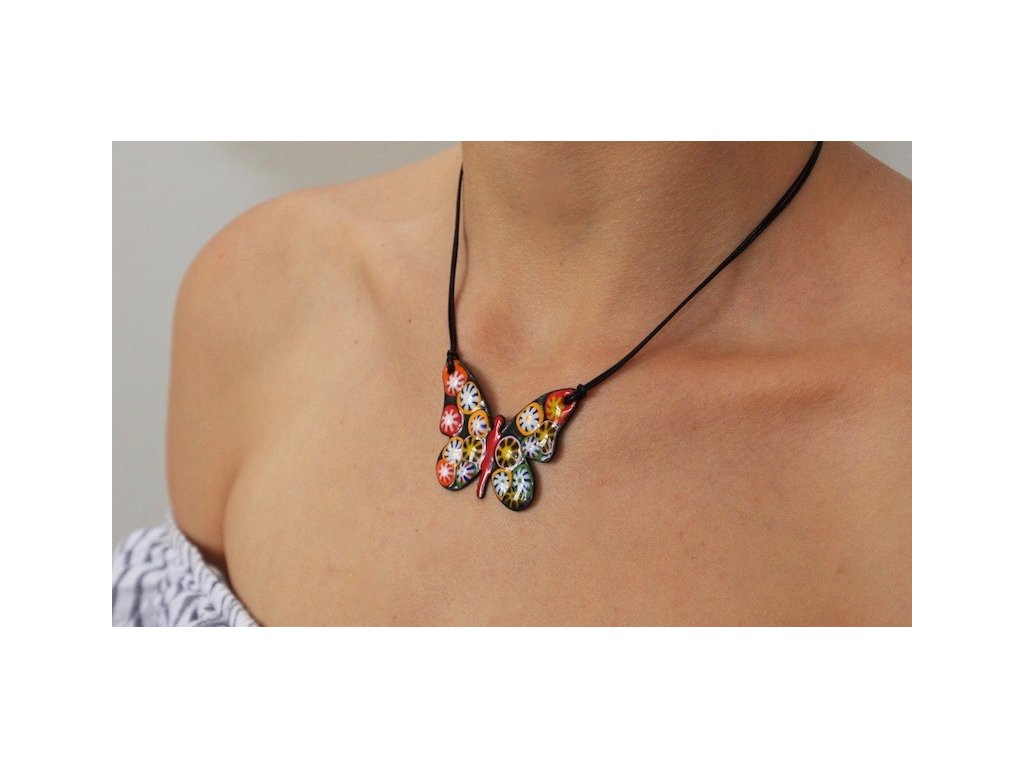 656 butterfly necklace