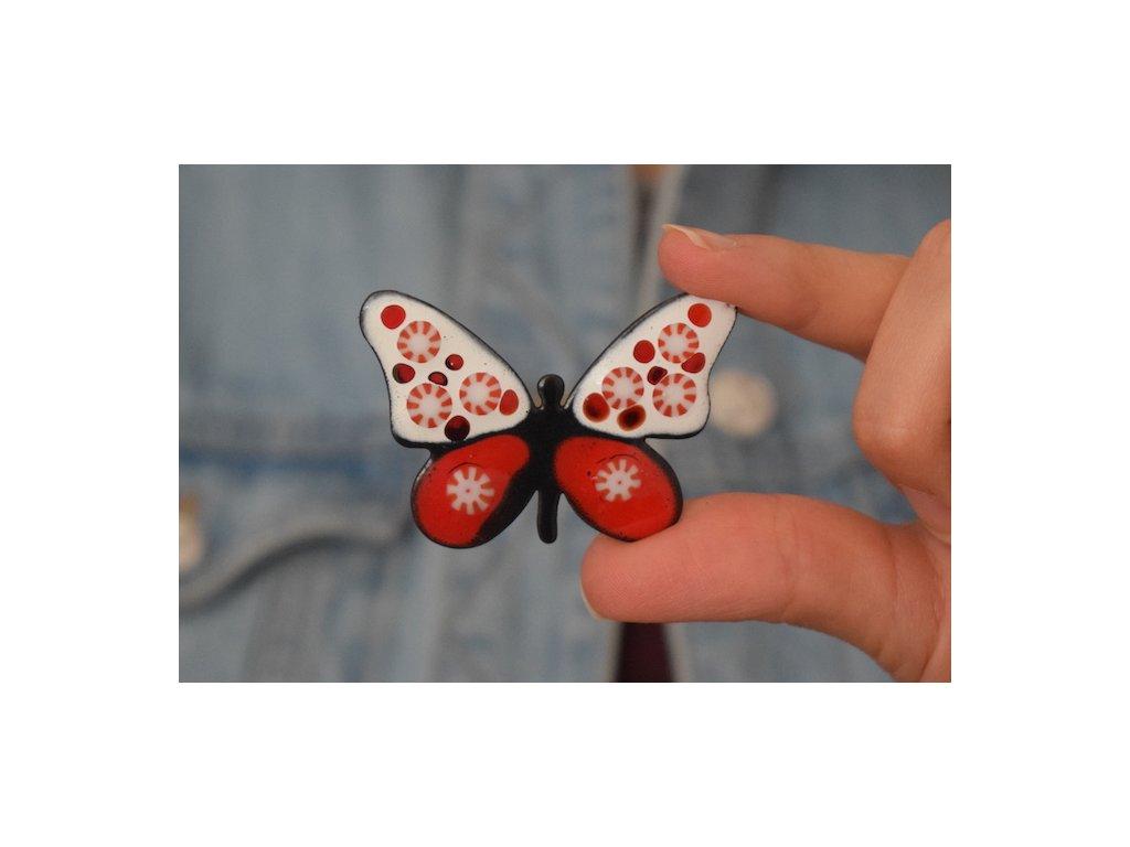 704 brooch butterfly