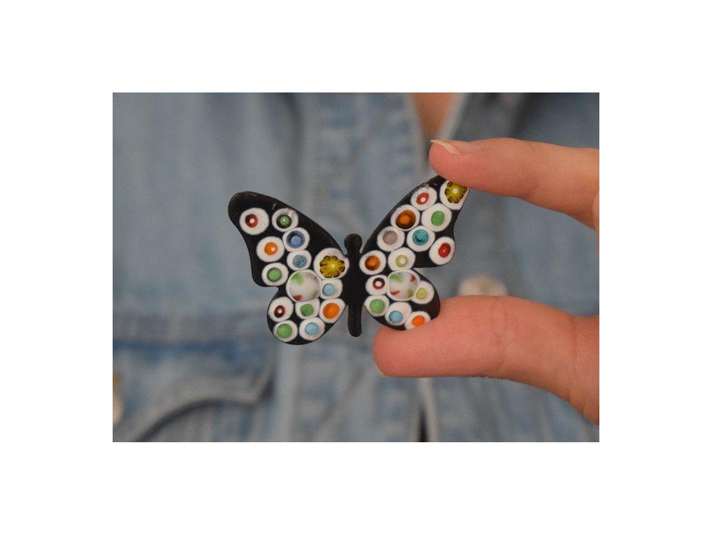 707 brooch butterfly