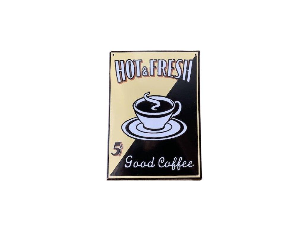 smaltovana cedele Good coffee 3 removebg preview