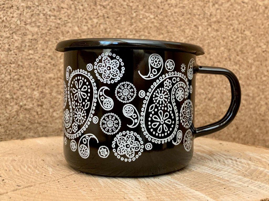 Mug - Paisley pattern