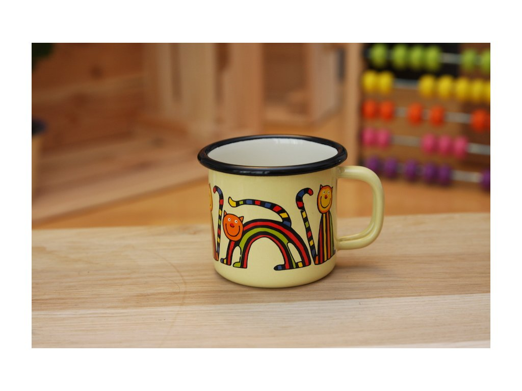 Mug - stripy cat