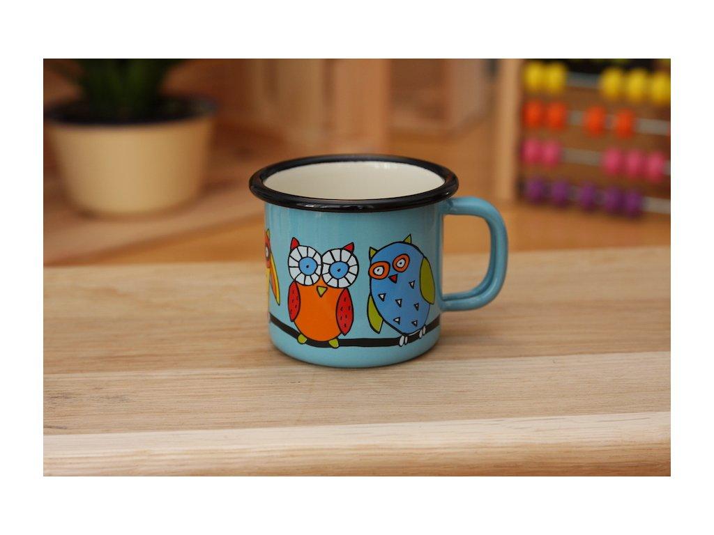 Mug with owl