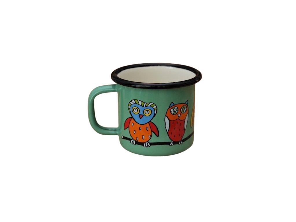 918 mug with owl