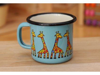 hrnek s žirafou