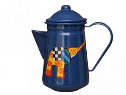 1044 coffee pot with elephant