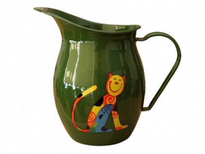 1152 pitcher with cat