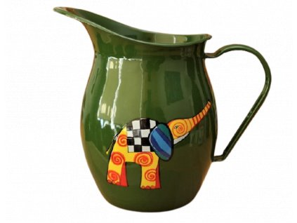 1170 pitcher with an elephant