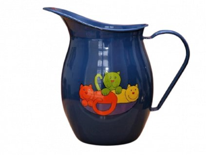 1185 pitcher with cat