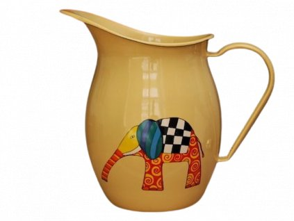 1215 pitcher with an elephant