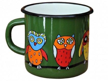1308 mug with an owl