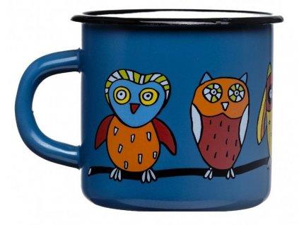 1434 5 mug with an owl