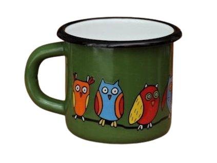 1593 mug with an owl