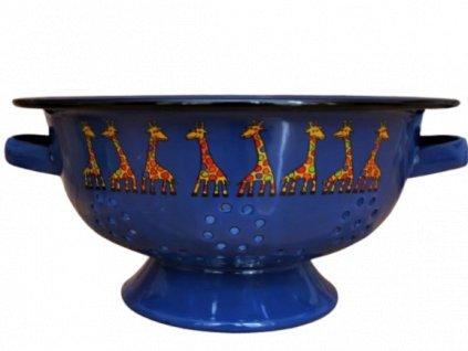 1947 colander giraffe dark blue