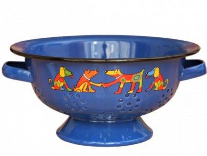 1953 colander dog dark blue