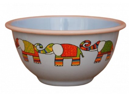 2222 blue bowl with elephant