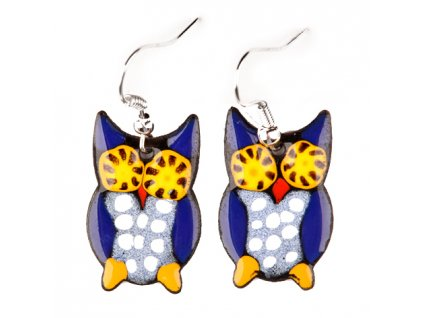 227 owl earrings