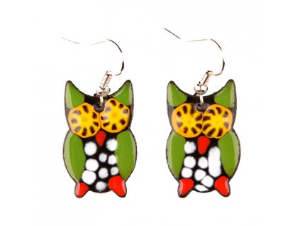 230 owl earrings