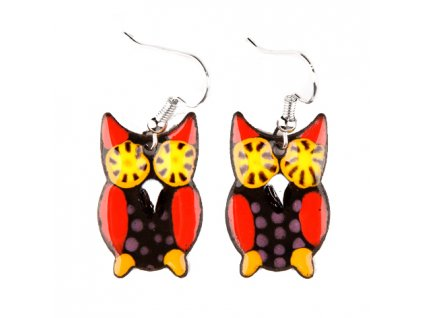 233 owl earrings
