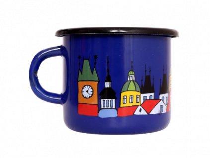 Enamel mug motive Prague