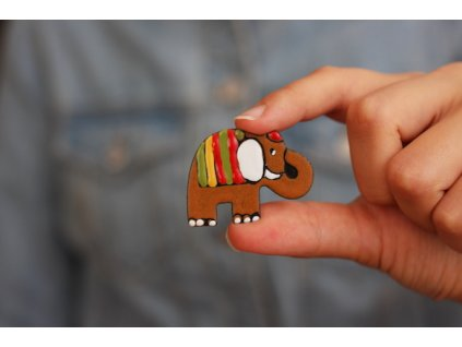 314 brooch elephant