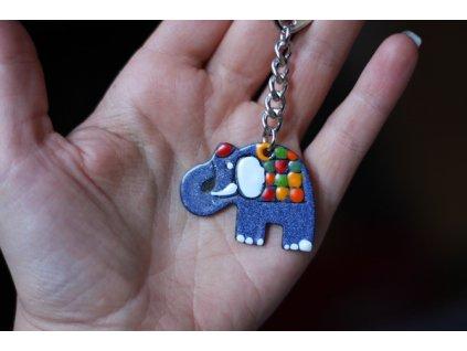 395 keychain elephant