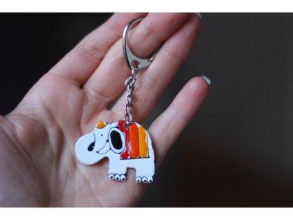 401 keychain elephant