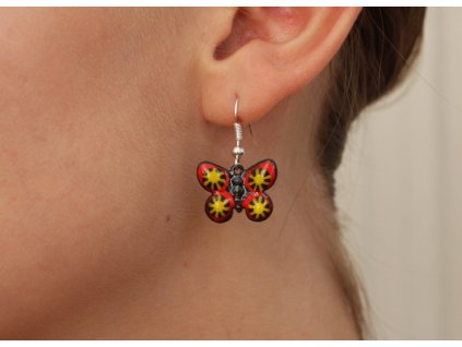 497 butterfly earrings