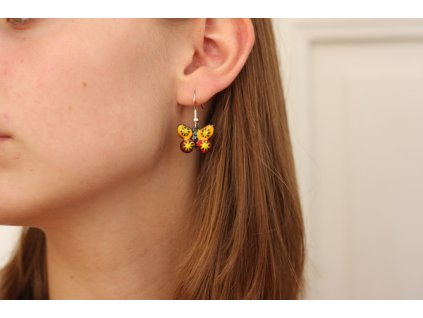 500 butterfly earrings
