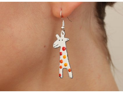 512 giraffe earrings