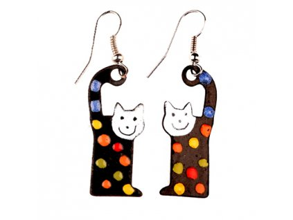 524 cat earrings