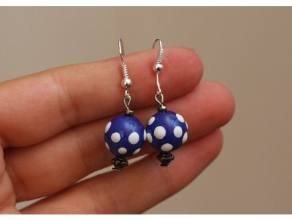 551 earrings ball