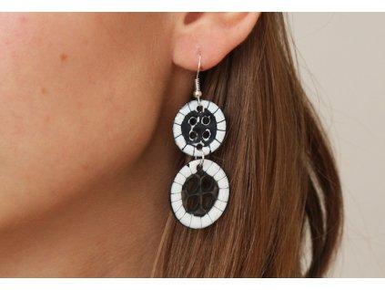 554 button earrings