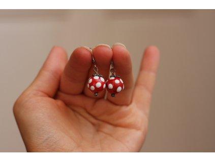 584 earrings ball