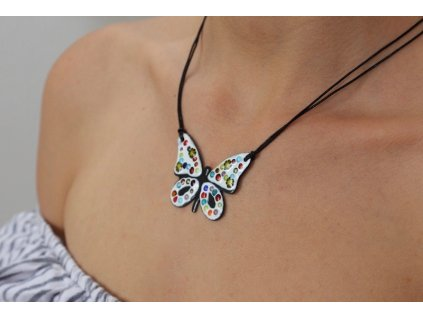 659 butterfly necklace