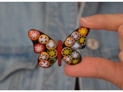 713 brooch butterfly