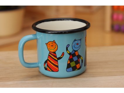 Hrneček s kočkou / Mug with cat