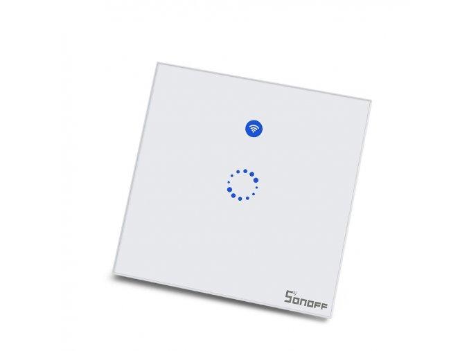 Sonoff T1 - 1 kanálový  dotykový nástěnný wifi vypínač
