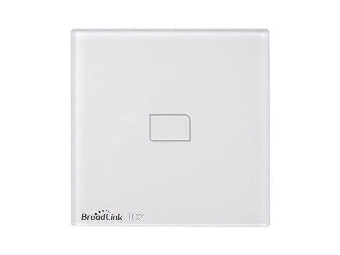 Broadlink TC2 Wifi 1 Gang Touch Switch Panel UK Standard 387353
