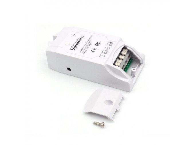Sonoff G1: GPRS/GSM  chytrý spínač ovládaný aplikací