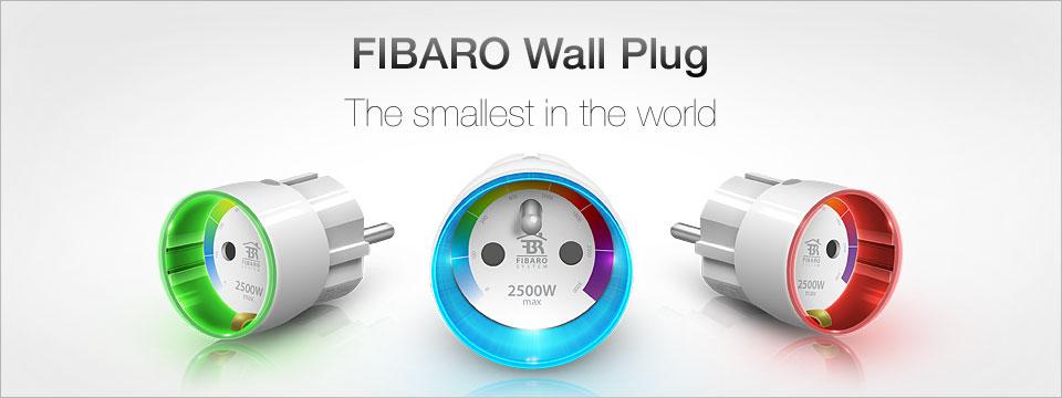 FIBARO chytrý adaptér do zásuvky