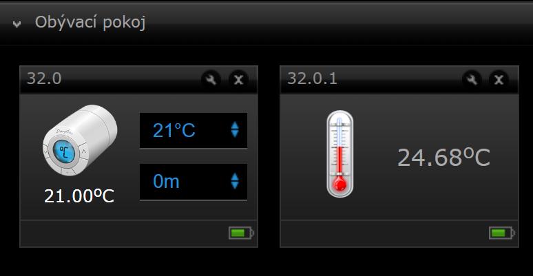Fibaro - regulace termostaticke hlavice