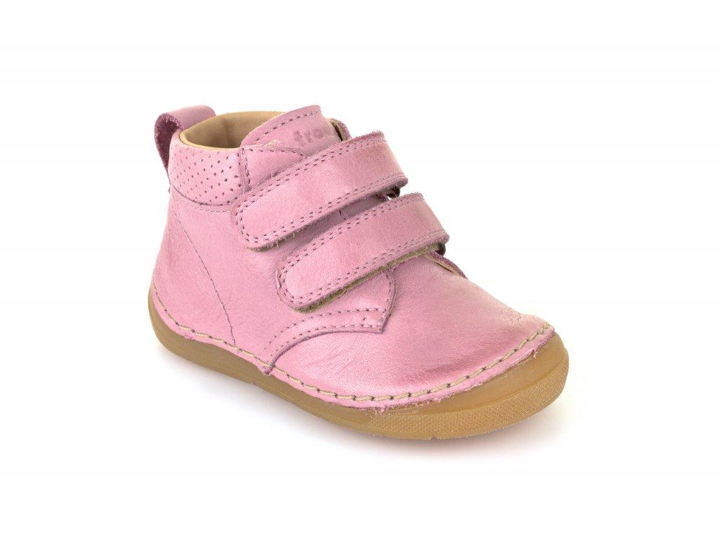 c98eec5a576 Froddo kotníčkové suchý zip růžové - Smart Barefoot