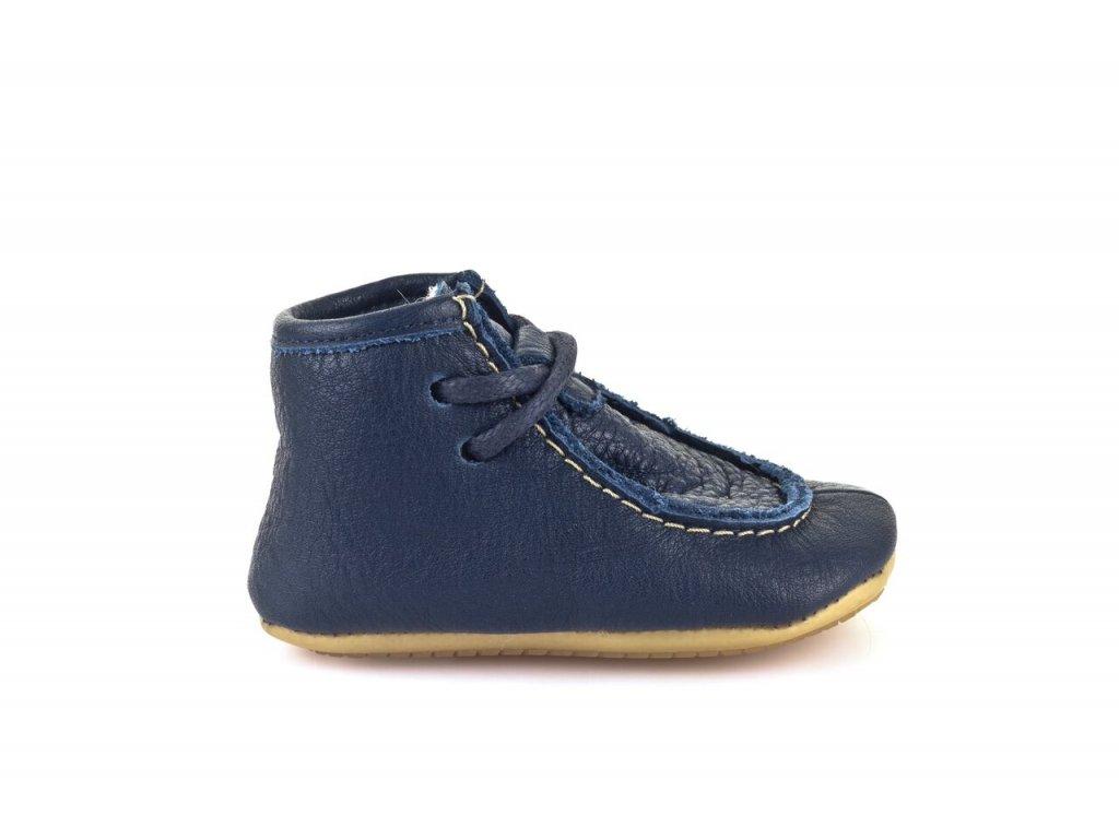Froddo Prewalkers zimní s vlnou modré na tkaničky - Smart Barefoot 7036c702b5