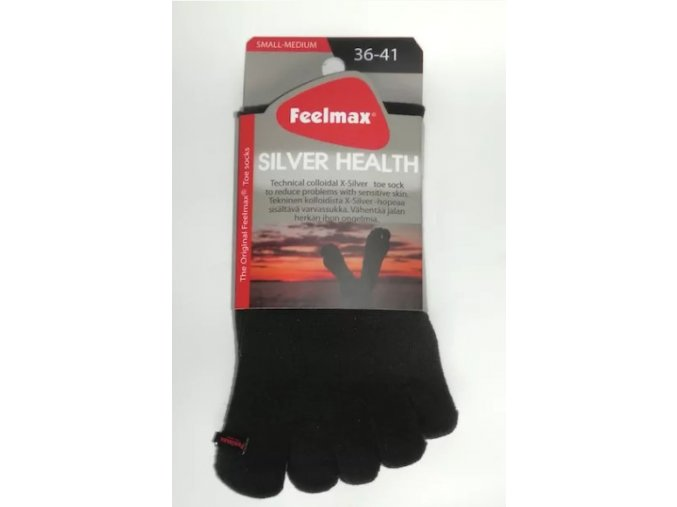 toe socks silver health