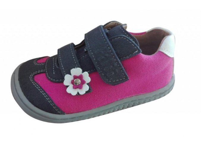 filii leguan W velours textile ocean pink