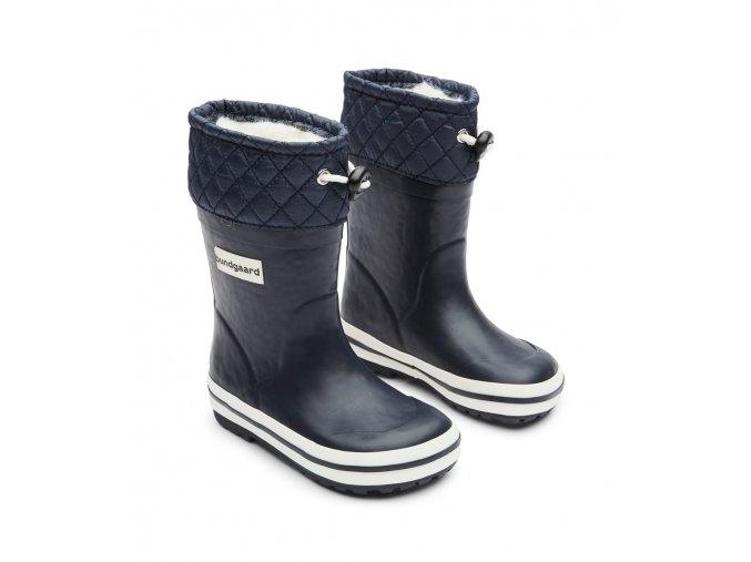 bundgaard sailor boots winter navy