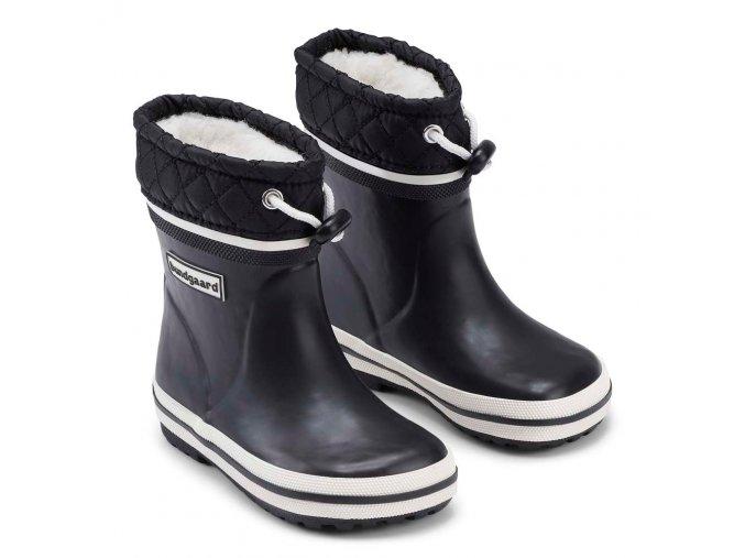 bundgaard sailor boots short winter navy
